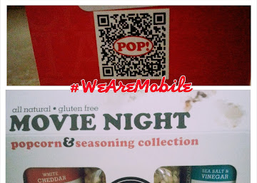 QR Codes on Product Packaging - Gourmet Popcorn