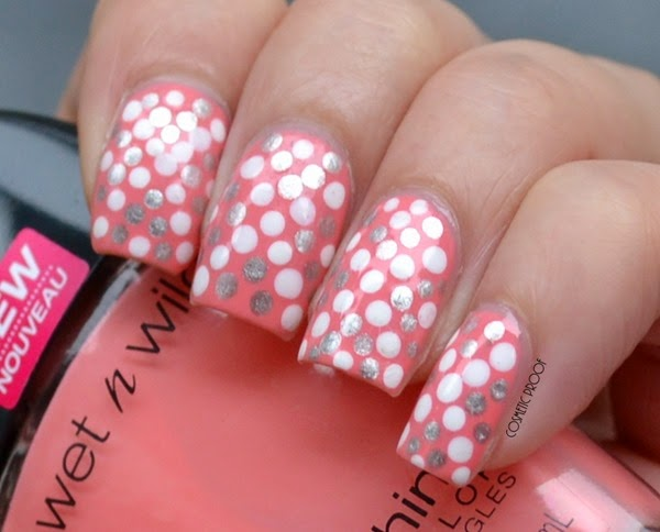 Wet n Wild - She Shells Dotted Nail Art Review (3)