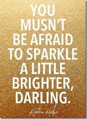 Sparkle a Little Brighter