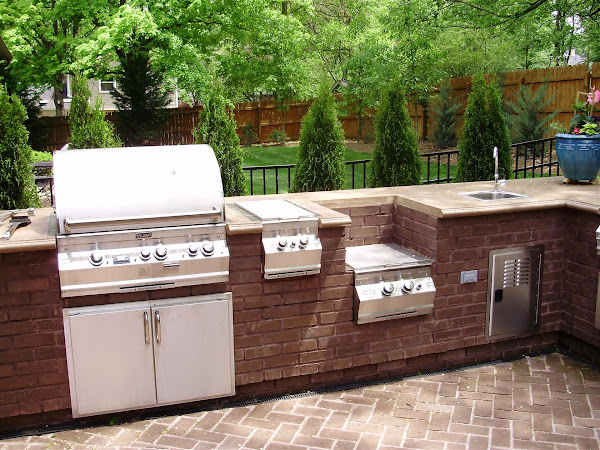 Landscape Outdoor Kitchens 12 Outdoor Kitchen Pictures