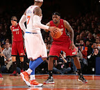 lebron james nba 130301 mia at nyk 26 LeBron Debuts Two New Pairs at MSG   Carmex iD & Grey PE