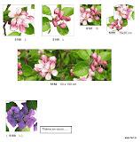 Gobeliny nowoczesne, w kwiaty