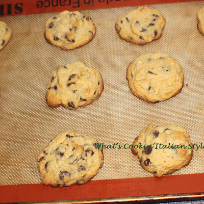 Soft Coconut Pudding Chocolate Chip Cookies