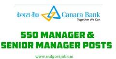 canara bank jobs 2013