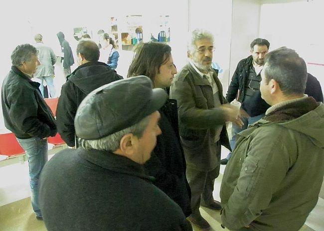 Συμβολική κατάληψη στο Νοσοκομείο Αργοστολίου από μέλη του ΠΑΜΕ και της ΠΑΣΕΒΕ