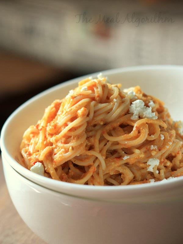 Peanut Hummus & Chilli Pesto Pasta-1