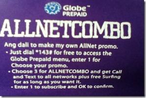 Globe AllNetCombo-Adobotech