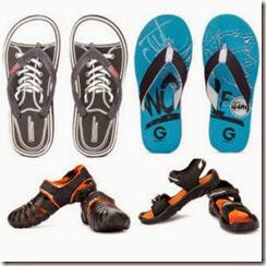 Men's Footwear at 50% off, Slipper at Rs. 99, Sandals at Rs. 249 at Flipkart