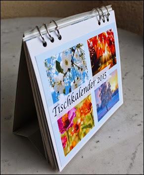 Tischkalender 2015 selbermachen basteln Blanko Vorlage 01