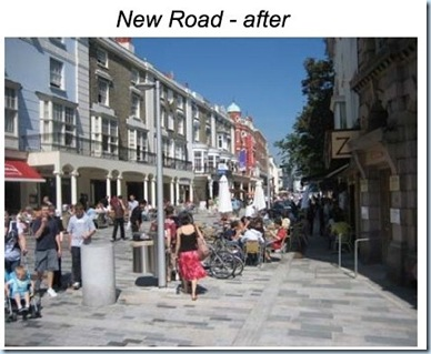 new road photo after