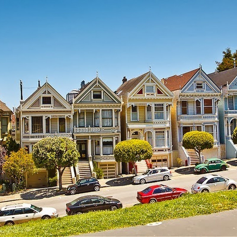 San Francisco Painted Ladies Color Changed