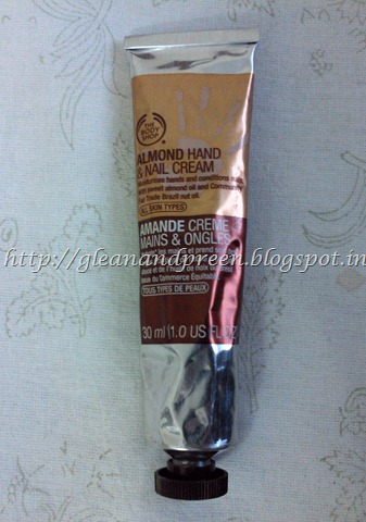 THE BODY SHOP's Almond Hand And Nail Creme