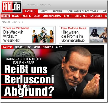 La homepage della 'Bilde'