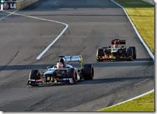 Hulkenberg davanti a Raikkonen nel gran premio del Giappone 2013