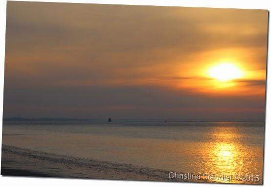 Sonnenaufgang in Wilhelmshaven