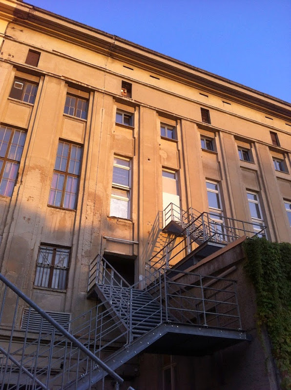 Berghain shadows