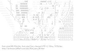 [AA]Mato Kariya (Fate/zero)