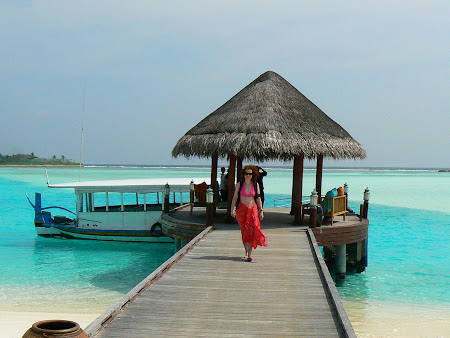 Anantara Dhigu Maldives: The docks