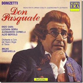 Enzo Dara in Don Pasquale (Orch T.Regio Torino, dir B.Campanella)