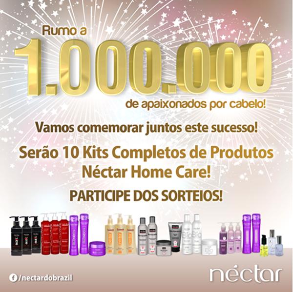 Promoção 1.000.000 de Fãs Néctar do Brasil