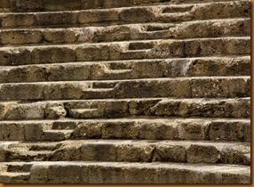Malaga, roman theatre steps