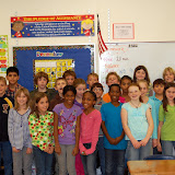 WBFJ Cici's Pizza Pledge - Frank Morgan Elementary School - Ms. Logan's 5th Grade Class - Clemmons