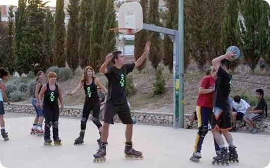 basket patin