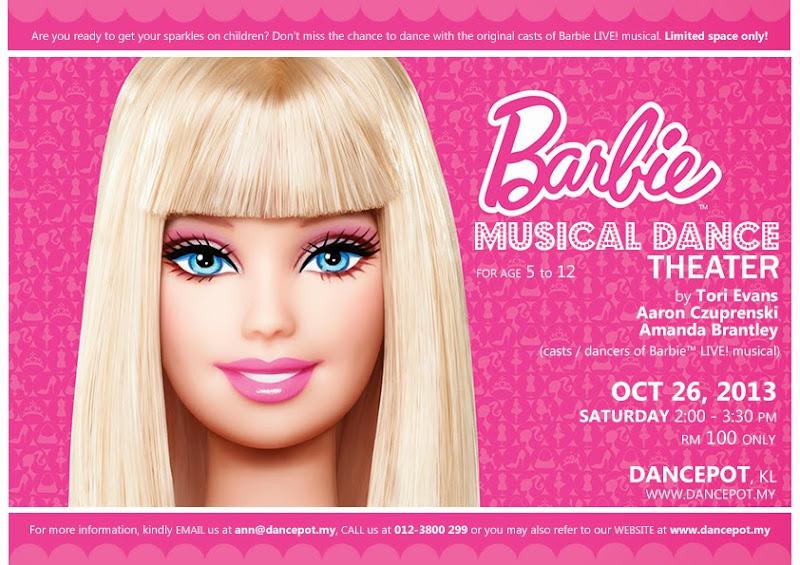 Barbie Musical Dance Theater KL Malaysia