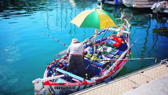 fisherman in nice