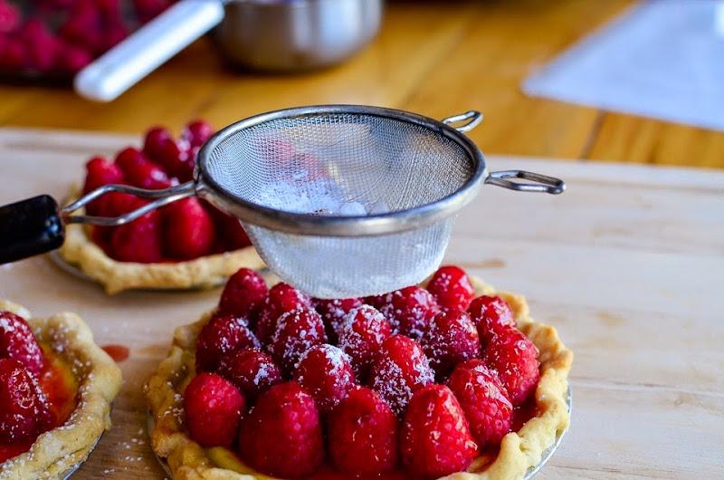 raspberry tarts-14666