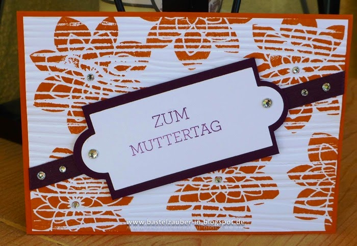 Muttertag Faux Tile-fertig