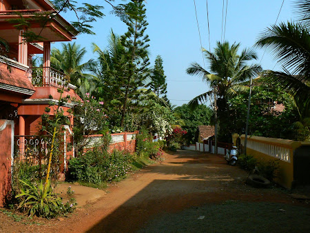Goa: The road to Villa Marbella