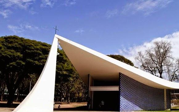 Igrejinha Nossa Senhora de Fátima - Oscar Niemeyer, Brasilia