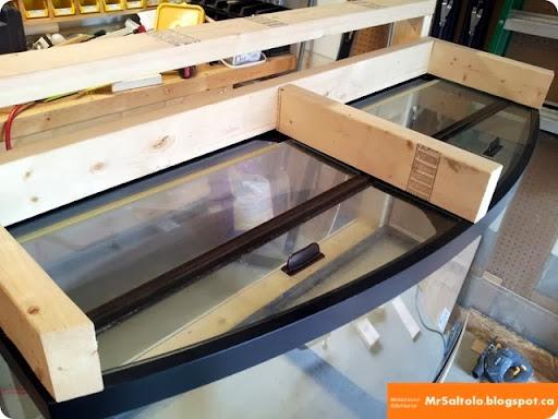01-20130602 & MrSaltolo EduCasts: BUILDING A 72g BOWFRONT AQUARIUM STAND - P3 ...