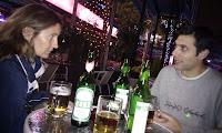 Fent temps (i unes birres) al Red House