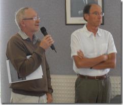 Le Prsident de TAFDT et Jean Bourgeon