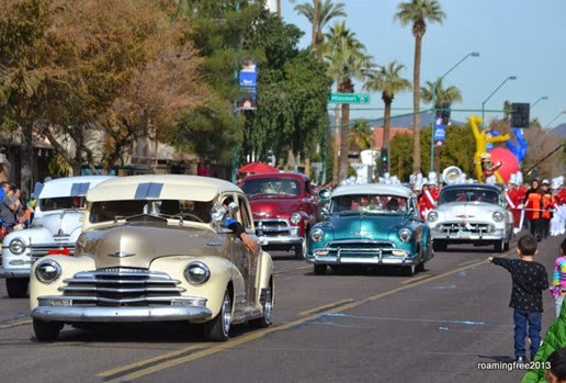 Lots of old cars