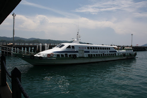 Ferry boat for Kota Kinabalu to Pulau Labuan