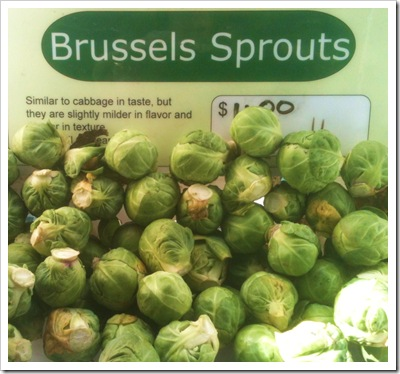 brussel sprouts rhinebeck farmers market