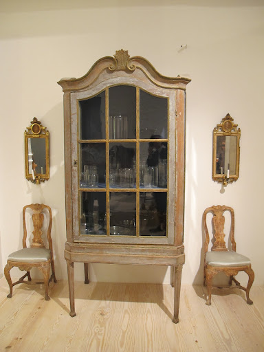 This Baroque cabinet from Sweden circa 1740-1760 is on of my favorite pieces in the shop.