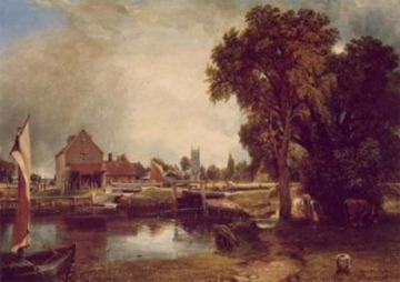 John-Constable-Dedham-Lock---Mill-40059