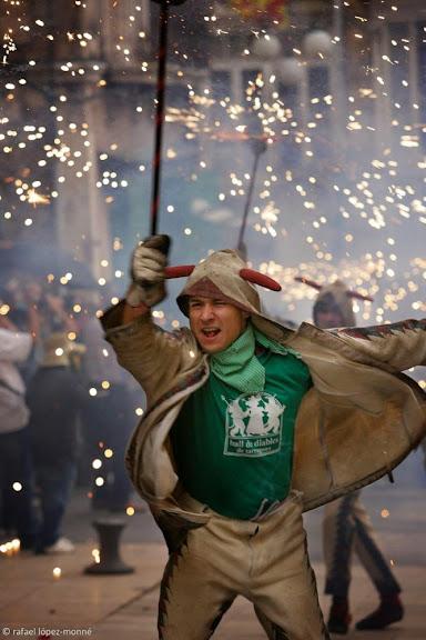 Ball de Diables de Tarragona, Cercavila dia 22, festes de Santa Tecla,Tarragona, Tarragonès, Tarragona