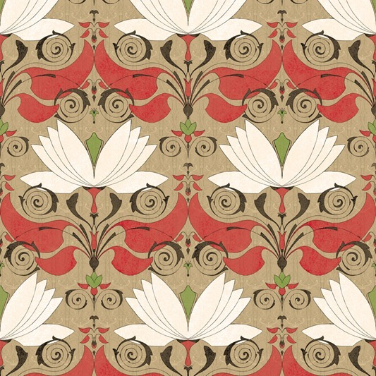 lotos pattern by Maria Khersonets - 2