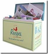Pantry Recipe Box
