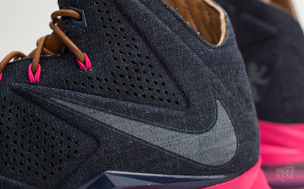 Breaking Down the Nike LeBron X EXT Denim QS