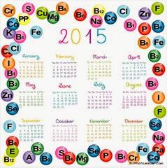 обор календарей 2015