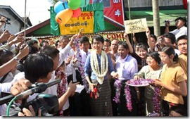 Suu Kyi Support