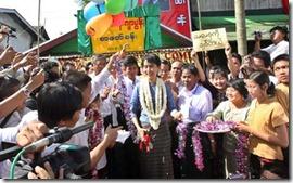 Suu Kyi Support