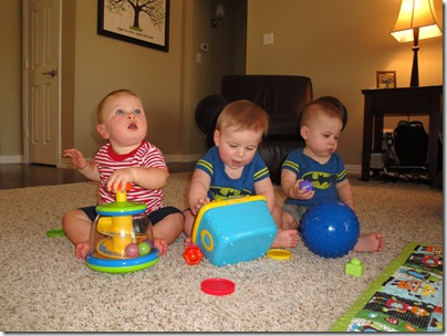 1.  Playdate with Brayden and Bryce