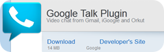 Google Talk Plugin Video Renderer